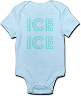 CafePress Ice Ice Baby Cute Infant Bodysuit Baby Romper