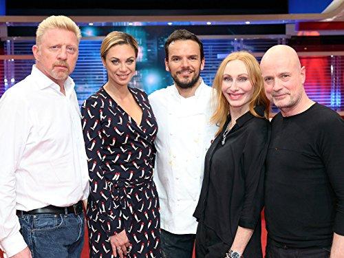 Mit Lilly und Boris Becker, Christian Berkel und Andrea Sawatzki