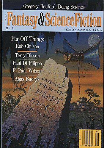 Fantasy & Science Fiction Magazine, May 1992 (Volume 82, No. 5)