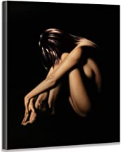 Bathroom Wall Decoration Modern Canvas Oil Painting Beautiful Poses and Photos of Sexy Girls Used in Bathroom Design Bedroom Living Room Wall Decoration Nude Woman Artwork and Perfect Art Painting