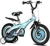 Xiaoyue Freie Kinder Mountainbike Spaziergänger Innen Übungs-Fahrrad Kinder Transport 3~12 Jahre alt (Farbe: Blau, Größe: 14inches) lalay (Color : Blue, Size : 12inches)