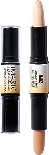 CCbeauty Dual-ended Wonder Makeup Contouring Stick Cream Kit Highlighter Stick,Color-Medium/Tan/IM02