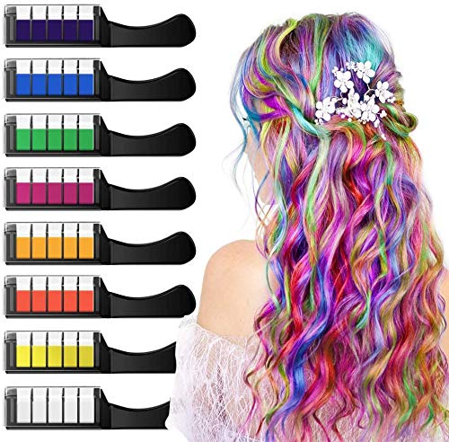 Ximu -   Haarkreide 8 Farbe,