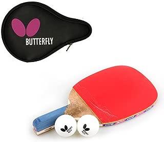 Butterfly NAKAMA P-10 Table Tennis Racket Paddle (Penholder) + Logo Full case