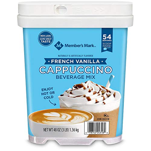 Member's Mark French Vanilla Cappuccino Beverage Mix (48 oz.) AS