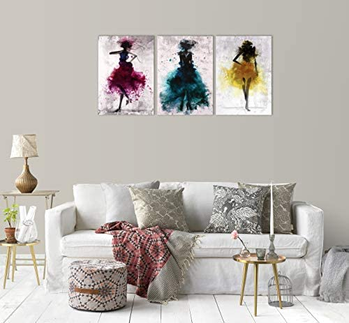 Abstract dance paintings _image0