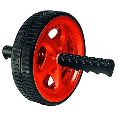Valeo VA2413RE Ab Roller Wheel, Exercise And Fitness Wheel With Easy Grip Handles For Core Training And Best Abdominal Workout