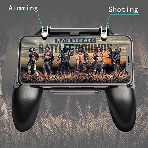 picK-me Mobile Game Controller, Gaming Trigger Smartphone Shooter Sensitive Controller Joysticks PUBG Mobile, für 4,7-6,5 Zoll Smartphone