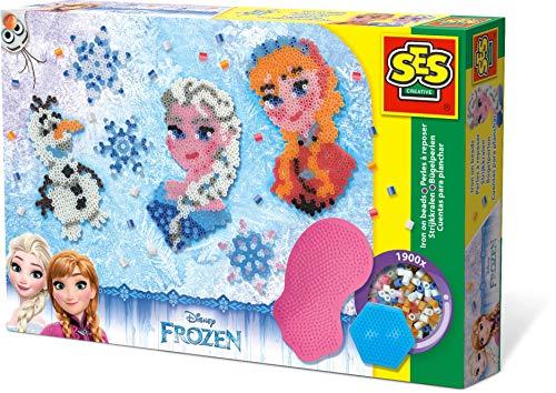 SES Creative 14736 The icequeen 14736-Bügelperlenset Frozen, blau