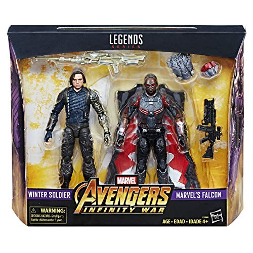 Marvel Legends Avengers Infinity War - Winter Soldier Falcon 2 Pack