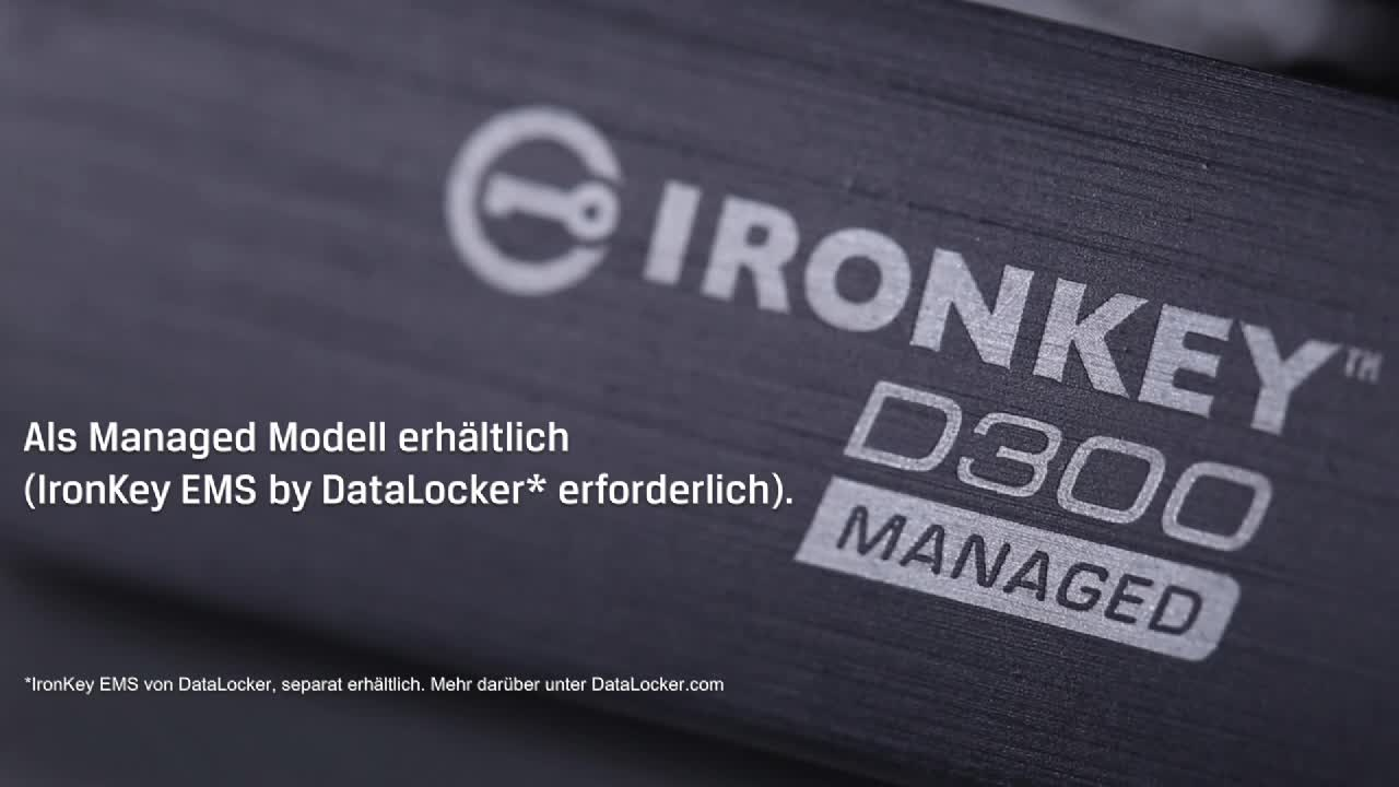 Kingston Ironkey D300s Encrypted Usb 64gb Computers Accessories