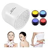 Fotones terapia con 4 cabezales LED 4 colores para el rejuvenecimiento de la piel, eliminar el edema y marcas de estiramiento, la belleza de la piel, anti-envejecimiento