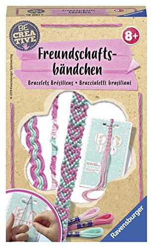 Ravensburger 18061 Be Creative Freundschaftsbändchen, DIY für Kinder ab 8 Jahren