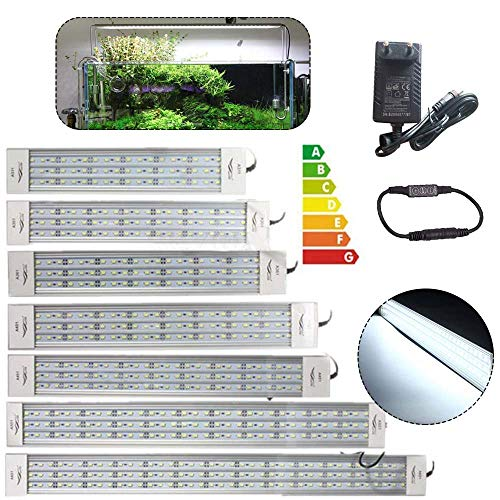 Bestine LED Aquarium Light, Aquarium Plants Grow Lampe mit Halterung und Dimmer für Aquarium (A451)