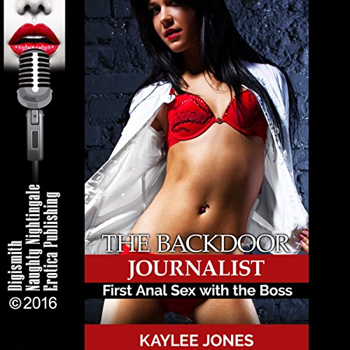 The Backdoor Journalist audiobook cover art