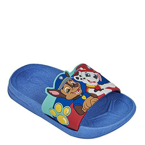 cklass Sandalia de baño Niño diseño Paw Patrol Azul Talla 17