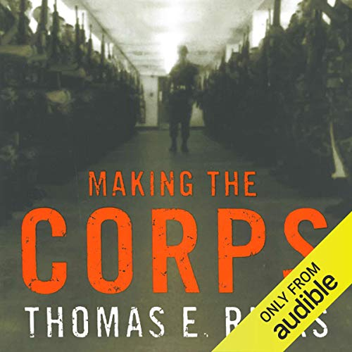 Making the Corps audiobook cover art