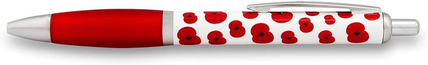 The Royal British Legion Falling Poppy Poppy Pen
