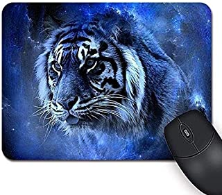 Mouse pad Rectangle Gaming Mousepad Animals Tiger Beauty Natural Eco Rubber Durable Computer Desk Accessories Mouse Pads for Gift