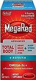 MegaRed Advanced Total Body Refresh Omega - 800mg 30 ea