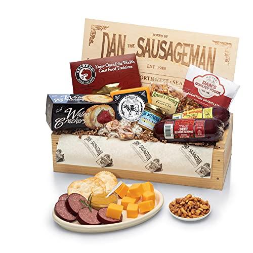 Dan the Sausageman's Favorite Gourmet Gift Basket -Featuring Dan's...