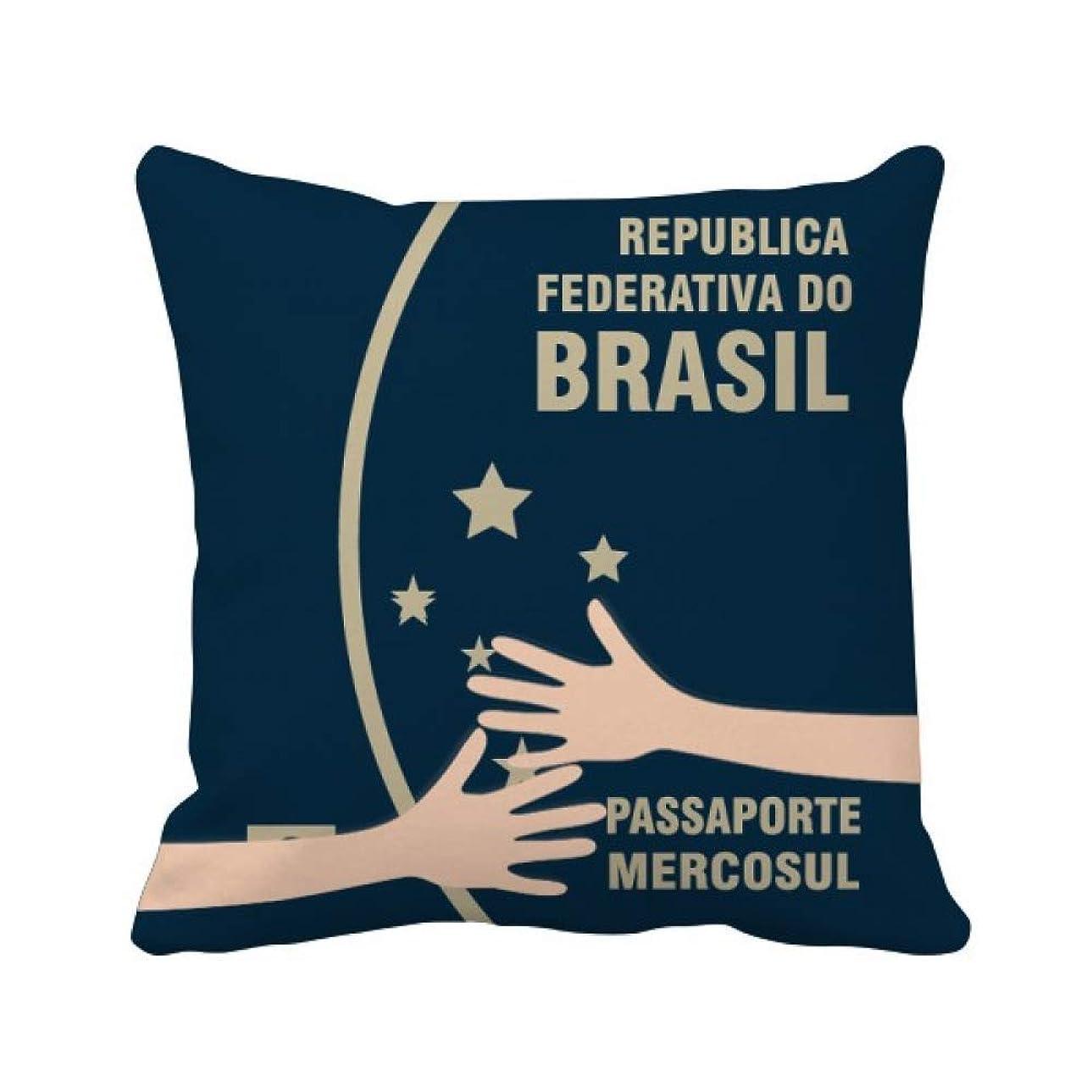 スリチンモイ忘れられない瞳観光国ブラジル 枕カバーを放り投げてハグスクエア 50cm x 50cm