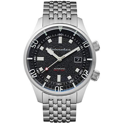 Herren-Armbanduhr Spinnaker BRADNER Automatik Datum rund Edelstahl Armband Edelstahl SP-5062-11