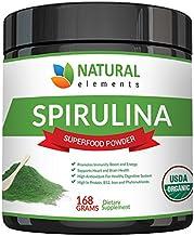 Premium USDA Organic Spirulina Powder - Highest Quality of Blue Green Algae from California & Hawaii – 100% Vegetarian & V...