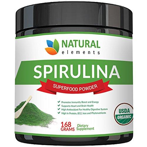 Premium USDA Organic Spirulina Powder | Amazon