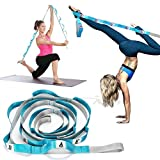 Price Xes Leg Stretcher Lengthen Ballet Stretch Strap Band Trainer with Handling Multiple Grip Loops Equipment Flexibility Stretching for Cheer Dance Gymnastics Yoga MMA Exercise Training Home Gym