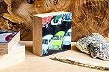 Trabbi DDR Oldtimer Quadrat 7,5x7,5 cm Holzbild im Shabby-Stil Photo on Wood gifts gift for her