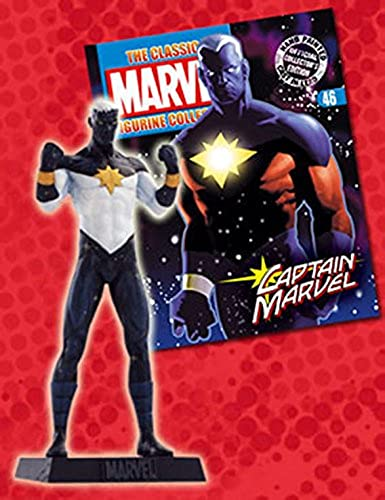 Marvel Figurine Collection Special Captain Marvel blanc Variant