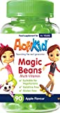 ActiKid Magic Beans Multivitamin 90x Apple Flavour, Gelatine Free, Vitamins for Children, Immunity