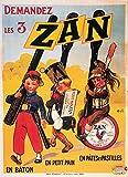 Haribo Zan Bonbon Poster, Reproduktion, Format 50 x 70 cm,