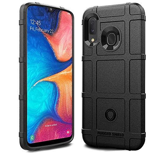 Capa Case Armadura Anti Impacto para Samsung Galaxy A20 (A205G) / A30 (A305GZ) (2019) (Tela 6.4), Tactical Armor Rugged Shield, TPU, Cushion Design Shell, Samsung Galaxy A20 (A205G) / A30 (A305GZ) (2019) (Tela 6.4) (Preto)