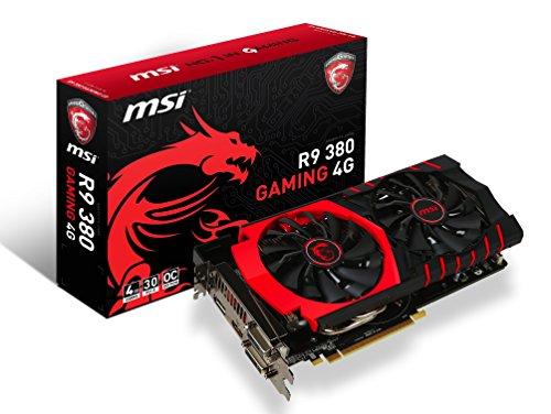 MSI R9 380 GAMING 4G グラフィックスボード VD5762 R9 380 GAMING 4G