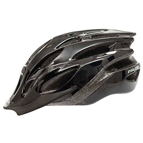 Raleigh Mission Evo Bike Helmet (Black, Large (58-62cm))