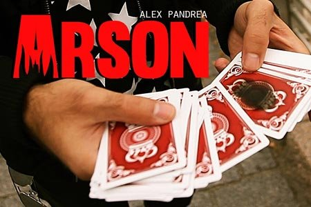 Arson (DVD + Gimmicks) by Alex Pandrea and The Blue Crown - Trick