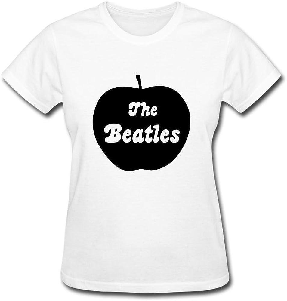 Women's The Beatles Apple Logo Short Sleeve T-Shirt