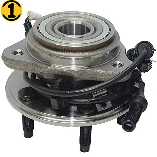 Front Wheel Hub and Bearing Assembly Fit 1995-2001 Ford Explorer, 2001 2002 Ford Explorer Sport(TRAC), 1997-2001 Mercury Mountaineer Hub Bearing 5 Lugs, w/ABS 4WD 4x4 (1999 Ford Explorer 4x4 Front Wheel Bearing Replacement)