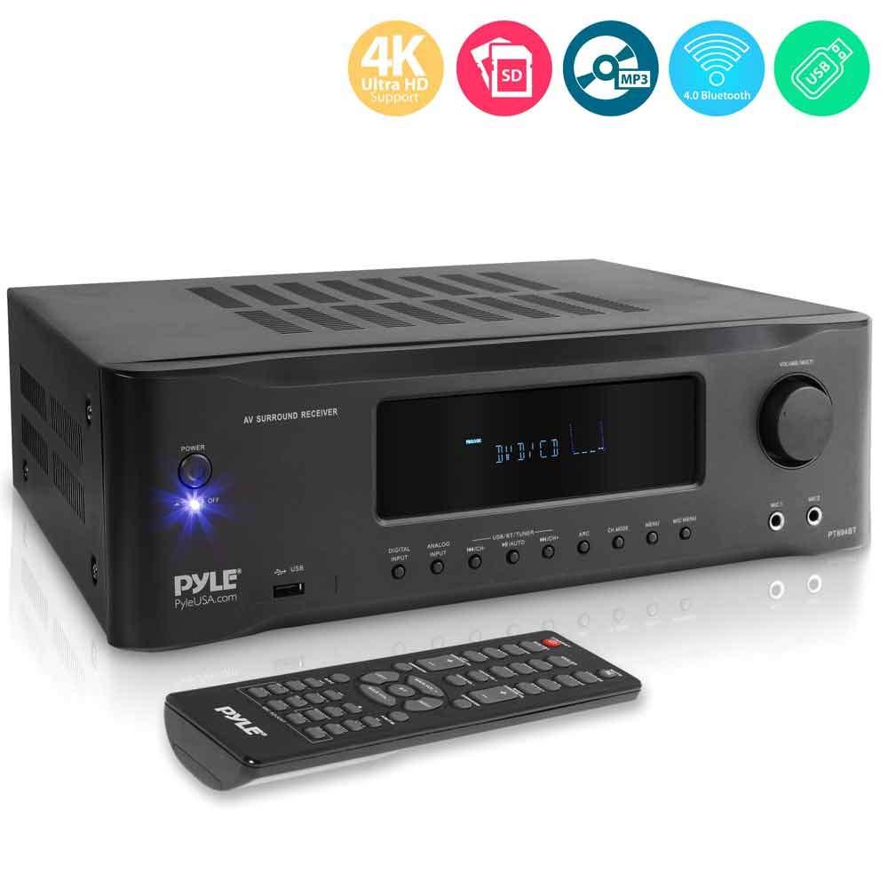 5 2 Channel Hi Fi Bluetooth Stereo Amplifier