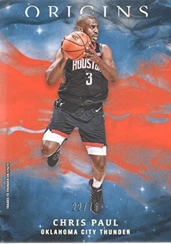 2019-20 Panini Origins Basketball Orange Parallel #61 Chris Paul /75
