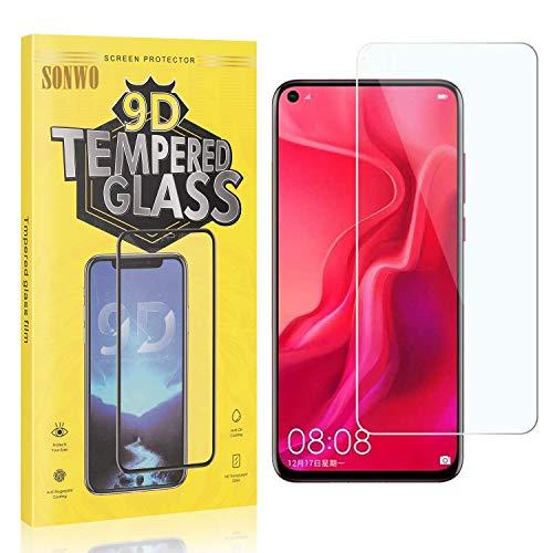 1 Stück Displayschutzfolie Kompatibel mit P20 Lite 2019, SONWO Panzerglas Schutzfolie für Huawei P20 Lite 2019, Gehärtetes Glas Schutzfolie