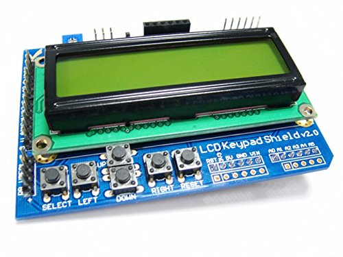 ALSR LCD1602 Keypad Shield V2.0 for Arduino Controller