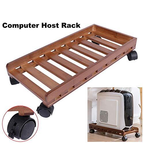 Guoyajf CPU Stand | Computerwagen, Tragbares, Bewegliches Computer-Host-Halterungs-Regal Wärmeableitungs-Gestell Mit Rädern Für Das Heimbüro