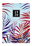 Collins Enchanted A5 Day to Page 2019-2020 Diary - Blue