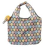 [イマイバッグ] 簡単収納 エコバッグ ボール型 柄 お買い物バッグ サブバッグ ショッピングバッグ eco-CB-PC002 P01