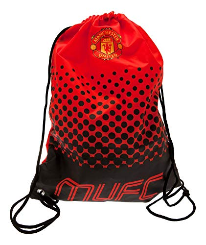 FC Manchester United 2427 Kordeltasche rot