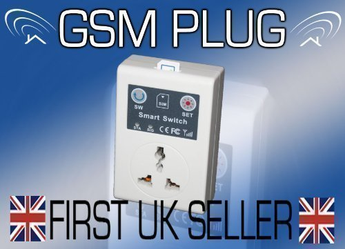GSM REMOTE CONTROLE SOCKET POWER SWITCH PLUG - mix zwart Geslacht