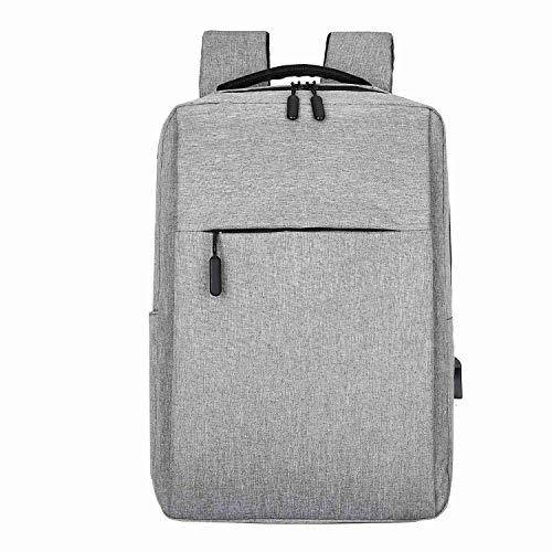 Nrpfell USB Rucksack L?Ssig Gesch?Ft Herren Laptop Tasche